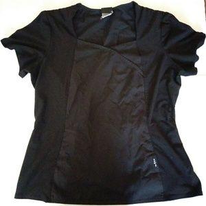 Work Scrub Baby Phat All Black Used